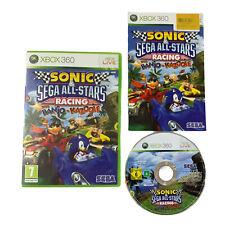 Sonic & SEGA All-Stars Racing (Xbox 360) Inc Manual, Good Con - FAST DESPATCH