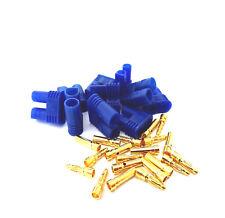 3 Paar 6 Stück EC2 Stecker + Buchse Goldstecker Connector Male Female Hochstrom