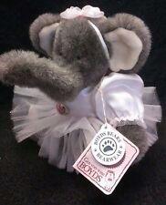 Boyds Bears Plush ISADORA T LIGHTFOOT Fabric Elephant Ballet Tutu 913201 Stuffed