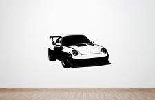 Porsche 911 gt2 rs Evo (993) type Wall Décalque Autocollants Graphic. (huge) (Clubsport)