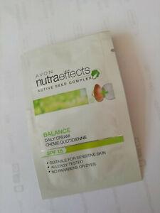Avon Nutraeffects Balance day cream - SPF 15 - 9 x SAMPLES