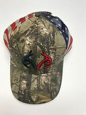 REALTREE Camo/RED/WHITE/BLUE FLAG  Summer Ball Cap Embroidered Camo/RWB New