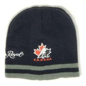 Team Canada Hockey Team Crown Royal Officially Licensed Toque Beanie OSFM