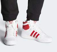 Adidas Top Ten Hi Sneaker Men's Lifestyle Shoes White Power Red