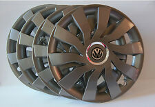 "16"" Volkswagen Transp.T5,Golf,Beetle...Wheel Trims / Covers, Hub Caps, Graphite"