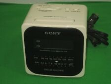 Digital AM/FM Radio Alarm Clock Model ICF-C120 Working Sony Dream Machine 5W