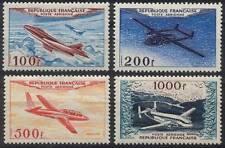 Poste Aérienne PA n° 30 à 33 ** de 1954 - NEUFS. LUXE