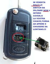 MICRO SWITCH PULSANTE X COVER CHIAVE LAND ROVER DISCOVERY FREELANDER TDV6 3TASTI