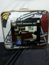 Arizona Cardinals Nfl Twin Size 2 Pc Comforter and Sham Bed in a Bag Set