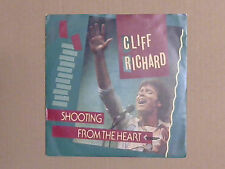 """Cliff Richard - Shooting From The Heart (7"""" Single)"""