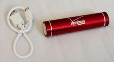 NEW Verizon PROMO 2200mAh Lipstick USB Portable Power Bank iPhone, Samsung, HTC