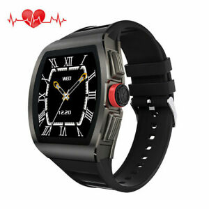 Fashion Men Smart Watch Heart Rate Wristwatch Phone Mate for iPhone LG Samsung
