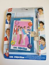 ONE DIRECTION SECRET DIARY WITH PADLOCK & KEYS, PENCIL 1D GIFT