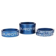 Burgtec Stem Spacer Kit - Deep Blue