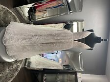 """Wtoo """"Bex"""" Wedding Dress in Ivory and Latte. US Size 12. Excellent Condition."""