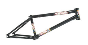 "SUBROSA SIMO FRAME BMX BIKE BICYCLE SIMONE BARRACO 20.6""tt ED BLACK NEW IN BOX"
