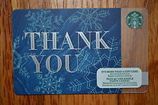 """Canada Series Starbucks """"WINTER THANK YOU 2015"""" Gift Card - New No Value"""