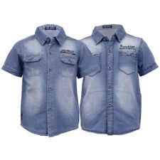 Abbigliamento a manica corta con colletto per bambine dai 2 ai 16 anni 100% Cotone