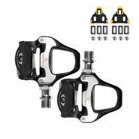 New RockBros Road Bike Clipless Bicycle Self-locking Pedals with SPD-SL Cleats