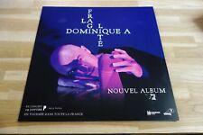 DOMINIQUE A - La fragilité !!!!!!! PLV 30 X 30 CM !!I DISPLAY