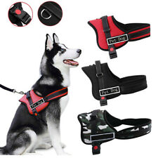 More details for outdoor train dog harness no pull reflective breathable puppy vest padded handle