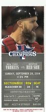2014 NY YANKEES VS RED SOX TICKET STUB ROSS 9/28/14 DEREK JETER LAST GAME FENWAY