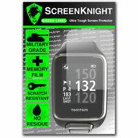 ScreenKnight TomTom Golfer 2 / ii SCREEN PROTECTOR invisible Military shield