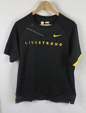 Vintage Nike Livestrong Black Jersey Sz M
