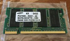 SAMSUNG PC2700S M470L3224FT0 256MB RAM DDR