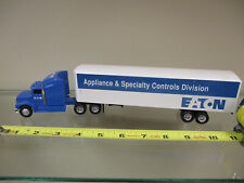Eaton Peterbilt Semi w/ Van Trailer by Ertl 1/64th Scale  !