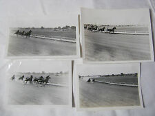 HARNESS HORSE RACING VINTAGE PHOTO LOT    T*