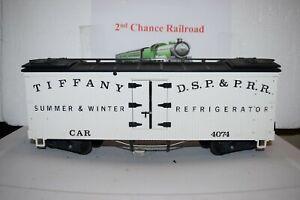 G Scale trains LGB Tiffany Reefer 4074