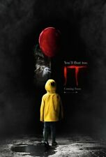 "IT Movie Poster [Licensed-NEW-USA] 27x40"" Theater Size (2017) Stephen King"
