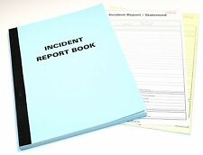 Incident Report Books,Security Guard,Door Supervisor,Gate House,Event Securtiy,