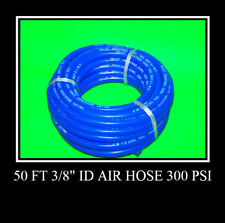 "2 NEW 50 Ft 3/8"" ID Air Hose 300 psi Air Tools USA"