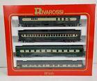 RIVAROSSI 6895 1920s Delaware & Hudson HO Scale (4) Passenger Cars B Set NEW!!