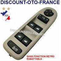 Platine commande bouton leve vitre conducteur PEUGEOT 308 - 96644915 BEIGE