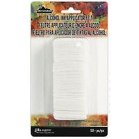 Alcohol Ink Applicator Felt 50 Replacement pcs for Ranger Tim Holtz Inking Tool
