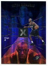 1997-98 SPx Hardcourt Holoview MITCH RICHMOND Rare Non-Die Cut Blank Back SP