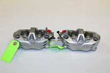 2007 07 Kawasaki Ninja ZX14 ZX1400A OEM FRONT BRAKE CALIPERS SET DAMAGE SJ