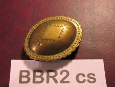Trinity Concho small Bbr2Cs solid Brass Vintage High Quality Usa Leather Craft