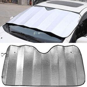 Universal Car Sun Shade Foldable Sun Visor for Front / Rear Wind Shield Window