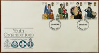 Youth Organisations Royal Mail First Day Cover with Insert 24 march 1982