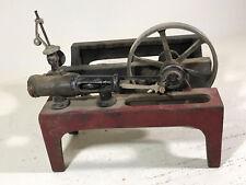 Antique Weeden Steam Engine Toy Cast Iron Platform flywheel PARTS