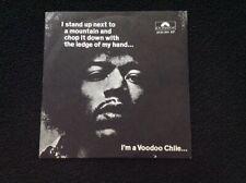 JIMI HENDRIX. VOODOO CHILE - HEY JOE - WATCHTOWER 45Rpm Italy Polydor 1970