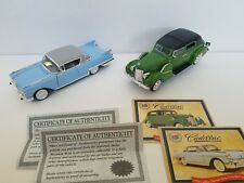 Cadillac Collection 1938 Set of 2 Cars NMM 1:32 Diecast