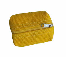 Yellow Green Breeze Imports Natural-Fiber Abaca Coin Purse