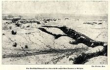 1915 * Ein Sandhügelstützpunk der k.u.k.Truppen in Galizien *  WW1