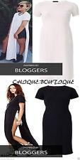 Unbranded Patternless Short Sleeve Dresses for Women