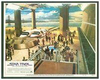 Vintage 1979 Original Star Trek the Motion Picture Lobby Card Set of 8  Shatner